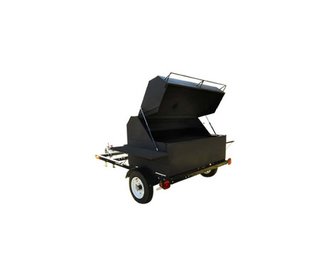 Big Pig Trailer Wood Pellet Grill